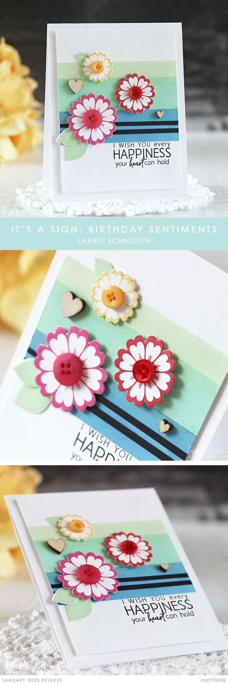 Daisys Stamps by the sea collection  Birthday Sentiments  26 Stamps