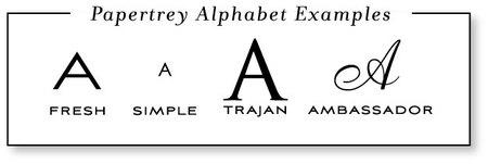 Alphabetcomparison