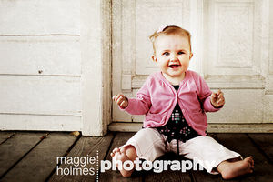 Maggie's photo sample