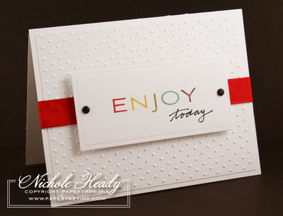 Enjoy Today card