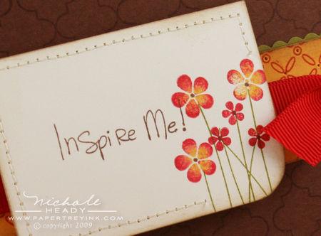 Inspire closeup
