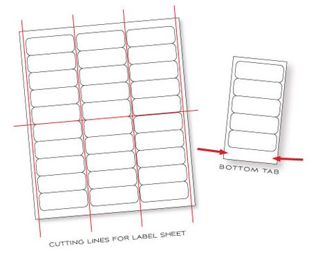 Label-sheet-cutting-illustration
