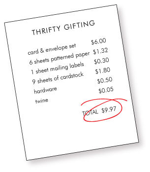 Thrifty-gifting