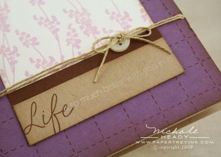 Lavender Life closeup