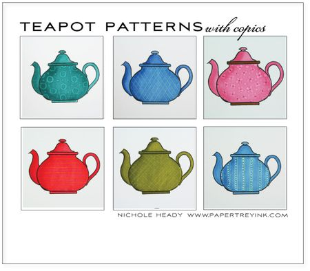 Teapot-patterns
