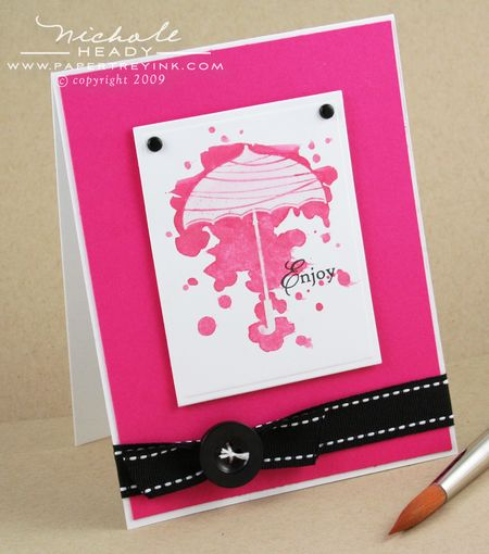 Paint Drops card