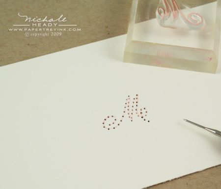 Piercing monogram