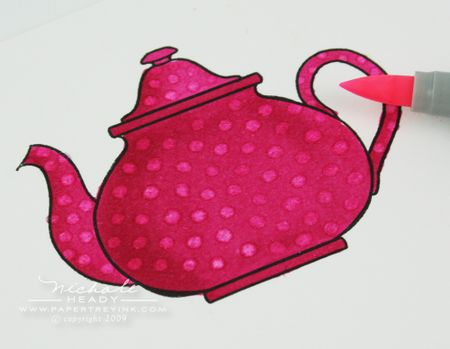 Copic final teapot