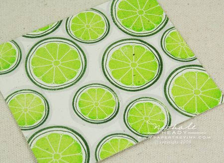 Lime shadows