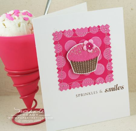Sprinkles & smiles card