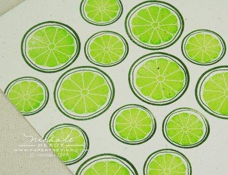 Lime paper