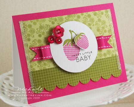Sweet Little Baby Card