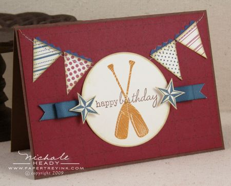 Happy Birthday Oars card