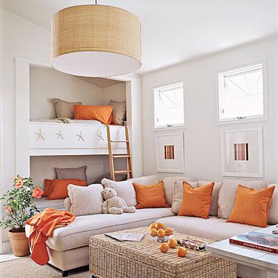 Orange & kraft inspiration