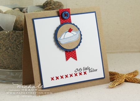 My Little Sailor card