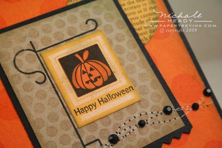 Halloween closeup