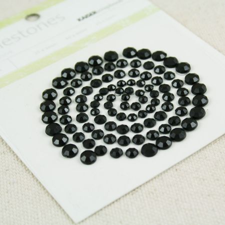 Rhinestones black