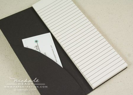 Notepad pocket
