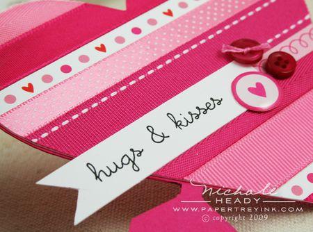 Hugs & kisses closeup