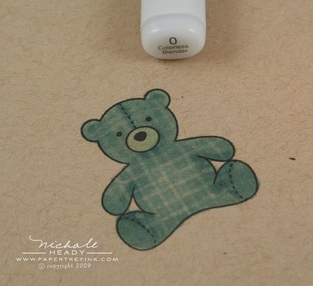 Gingham teddy bear