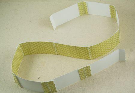 Stiched strip zigzag & reg