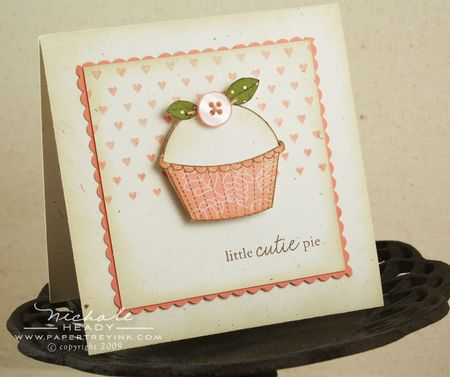 Little cutie pie card