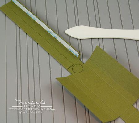Pencil adhering top tabs