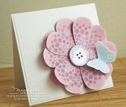 Big Flower Card