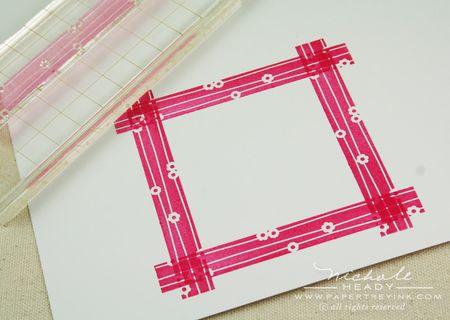 Stamped frame