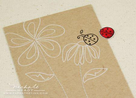 Cut out ladybug