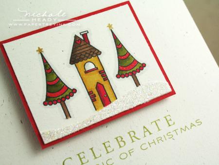 Christmas House closeup