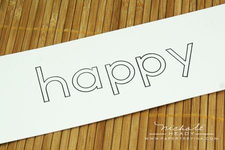 Blank happy