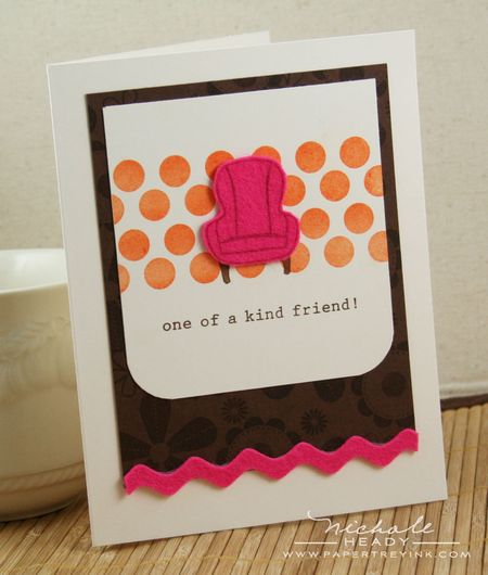 One of a kind card