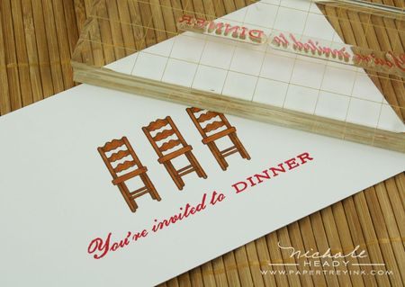 Dinner stamp