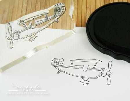 Airplane line image