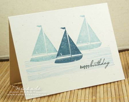 Sailboat card