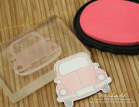 Adding pink to car