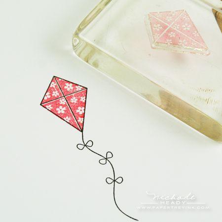 Kite stamp