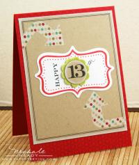 Happy 13th card