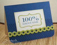 100% genuine card