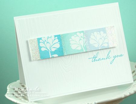 Color Spectrum Thank You Card