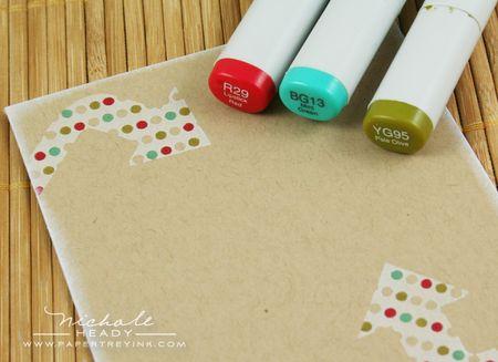 Coloring dots