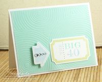 Big 40 card