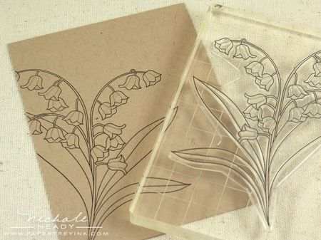 Stamped flower