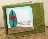 Surfer Dude card