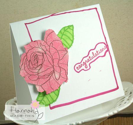 Hannah's card