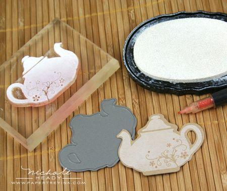 Stamping teapot