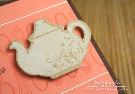 Teapot closeup