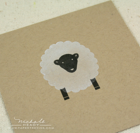 Stamped sheep