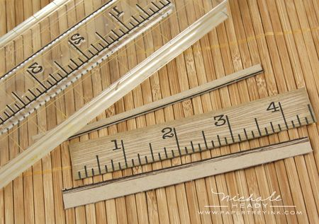 Stamping ruler